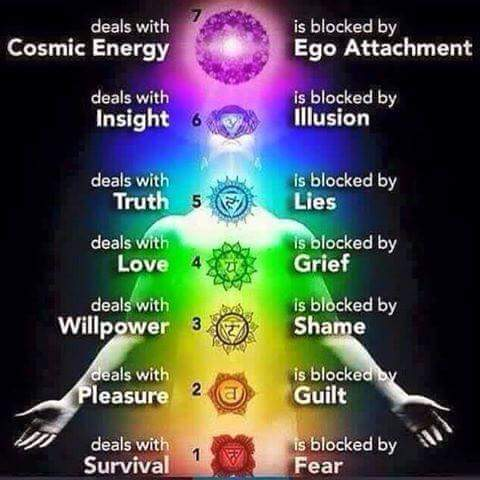 Aches and Pains as related to our Energetic Chakra System