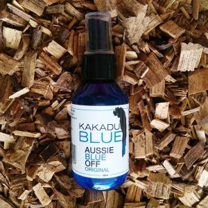 """Kakadu Blue Insect Repellant is a unique """"Top End"""" Natural insect repellant. Made in Darwin from 100% pure & natural Australian Blue Cypress essential Oil."""