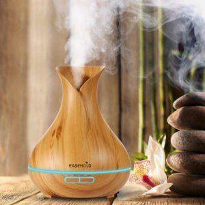 Aromatherapy Diffuser Wood Grain
