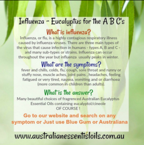Influenza - Eucalyptus for the ABCs