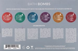 Bath Bombs Back Cover
